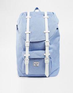 e18c7ce5f93 Herschel Supply Co Little America Backpack in Chambray Blue Herschel Supply  Co, Herschel Backpack,
