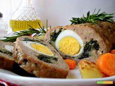 Polpettone ripieno  #ricette #food #recipes