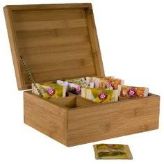 Bambus Teebox