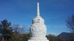 석가모니 진신사리탑(김해천문대 주차장에서 10분 거리)