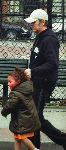 David Bowie & daughter Lexi