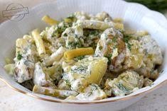 Sałatka ziemniaczana z fasolką szparagową – Smaki na talerzu Potato Salad, Salads, Food And Drink, Potatoes, Chicken, Meat, Ethnic Recipes, Potato, Salad