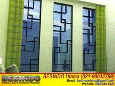 Contoh Gambar Foto Desain Teralis Jendela Model Minimalis 006