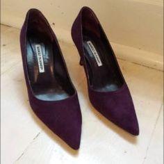 Available @ TrendTrunk.com Manolo Blahnik Heels. By Manolo Blahnik. Only $153.00!