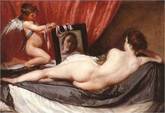 Venus at her Mirror by Velazquez
