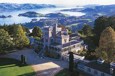 Larnach Castle & Gardens   Dunedin, New Zealand.  If I ever went to New Zealand, I would want to travel to Dunedin!