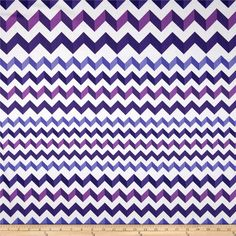 Crinkle Stripe White/Purple from @fabricdotcom  From Andover, this cotton print is perfect for quilting, apparel and home decor accents.  Colors include white,