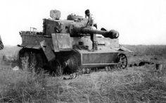 Knocked Tiger of Leibstandarte Division