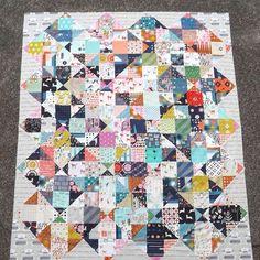 beauitful scrap quilt