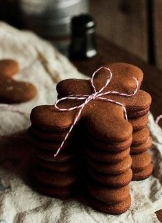 Ginger Bread Cookies. Cannot wait until it is Christmas again.