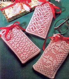 crochet em revista: bolsinha