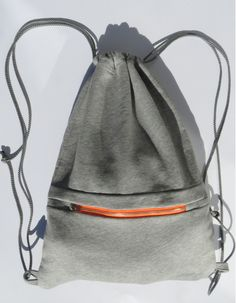 turnbeutel Backpack Bags, Drawstring Backpack, Cinch Sack, Bag Making, Cosmetic Bag, Metal Clay, Leather Bag, Gym Bag, Pouch