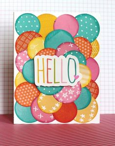 Scrapbooking & Cards Today The Blog: World Card Making Day 2015 - Colour Suite challenge!