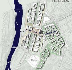 Sluppenområdet – mulighetsstudie (2013) – ARC arkitekter Urban Design, Culture