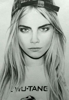 Pencil Portraits - Cara Delevingne by JaneyArt on DeviantArt More - Discover The Secrets Of Drawing Realistic Pencil Portraits.Let Me Show You How You Too Can Draw Realistic Pencil Portraits With My Truly Step-by-Step Guide.