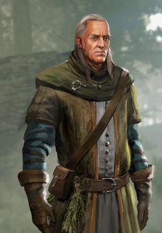 Emil Regis Rohellec Terzieff (Gwent Card) - The Witcher Wild Hunt Warhammer Fantasy Roleplay, Fantasy Rpg, Medieval Fantasy, Fantasy Artwork, High Fantasy, Witcher Art, Witcher 3 Wild Hunt, Paladin, Character Concept