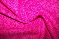 Tupfen Kringel Polka Dots Punktei pink Patchworkstoff Baumwollstoff Meterware