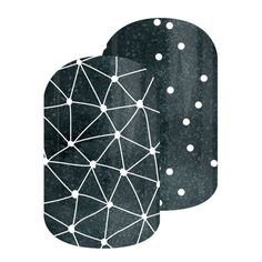 Among The Stars | Jamberry | Take star gazing to a whole new level with 'Among The Stars' at your fingertips.