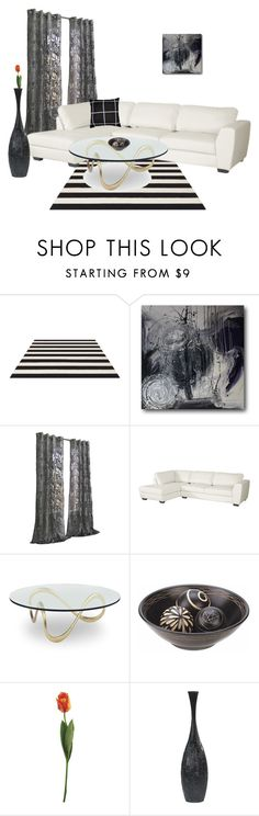 """""""Untitled #76"""" by besirovic ❤ liked on Polyvore featuring interior, interiors, interior design, home, home decor, interior decorating, Dot & Bo and AERIN"""