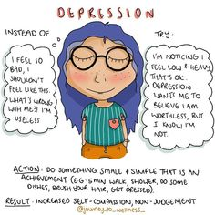 Depression lies to us, that's just what it does. After a while of listening to these lies, we internalise them, and they become almost… Mental And Emotional Health, Mental Health Matters, Mental Health Awareness Month, Disability Awareness, Social Emotional Learning, Emotional Abuse, Emotional Intelligence, Mindfulness Psychology, Coaching