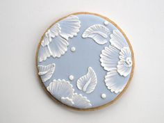 lace cookies tutorial