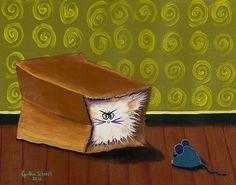 Cranky Cats - Indigo Art...