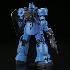Mobile Suit Gundam THE ORIGIN High Grade 1/144 Plastic Model : MS-04 Bugu [Ramba Ral Custom]