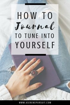 How to Start Journaling to Become More in Tune With Yourself | Journaling helps you gain clarity, reduce stress, and become more in tune with your feelings. Click through for 6 tips to help you get the most out of journaling and connect with yourself on a deeper level.| Journal Ideas | Journaling thoughts | Journaling Therapy | Journaling Inspiration | Self-care | Positive mindset | Personal development | Journaling for Beginners | Mental Health | #selfcare #personaldevelopment