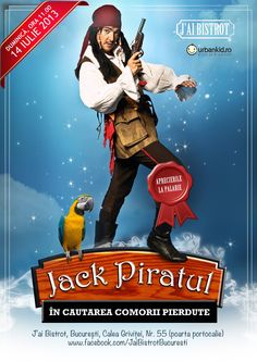 Jack Piratul (concept pt copii)