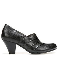 3ad6ac5f2ff Lifestride Women s Gamut Dress Pump Shoes (Black) 2 Inch Heels