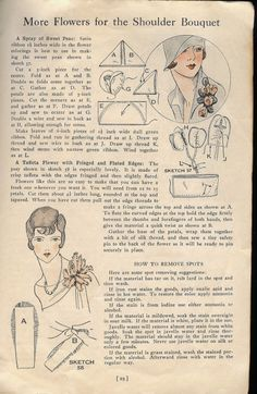 DIY embellishment ideas from the 1920s