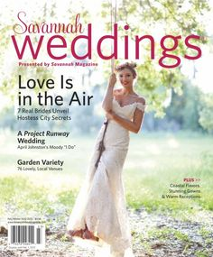 Savannah Weddings Magazine @Savannah Magazine, April Johnston's wedding was amazing!  So honored to be a part of their day!  #SavannahWedding #AWeddingWithRevSchulte #Savannah