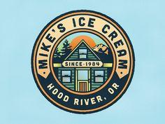 Mike's Ice Cream by Jeff Buchanan