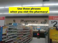 Take a look at my video, folks👇 VISITING THE PHARMACY Learn an American Accent Fast ! Episode 36 https://youtube.com/watch?v=6wpuIeaaT7k