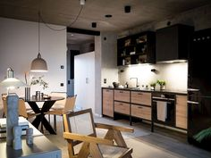 Industrial and Scandinavian Design in a Beautiful Apartment - The Nordroom