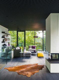 Casa Antiga na Floresta é Transformada em Espetacular Projeto de Arquitetura Contemporânea Inspirese  Fragmentos de Moda