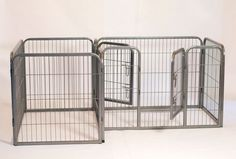 Iconic Pet - Heavy Duty Double Divided Tube pen for Dog - Dimensions: 41x28x28Iconic Pet Double divided tube pen can be used both indoor and outdoor and is designed to keep two pets separated while confined in one space.The Exercise Double Tube Play Pen will be ideal for any pet lover with multiple pets. Two luxurious pet pens built into one, saves space and costs significantly lower than two individual playpens.This heavy duty doubled divided playpens are ideal for multiple pets that have…