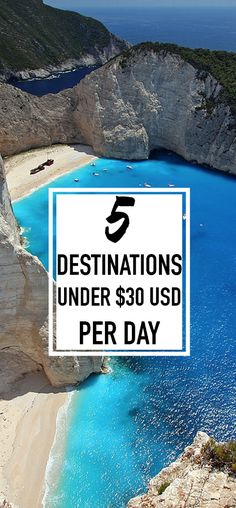5 Cheap Travel Destinations