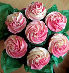 Cup cake bouquet