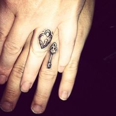 """Keep your love under lock and key. 