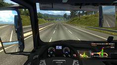 #001 ETS2 | Euro Truck Simulator 2| Die erste Fahrt | German | 4K/HD