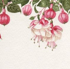 Pink Fuchsia Print by Parrish on Etsy, $25.00