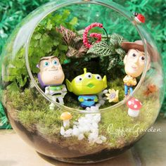 #toystory#terrarium#反斗奇兵#巴斯光年#植物#盆景#香港#澳門#微景觀#生態瓶