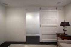 Barn Door + White + River Road Cottage + Darryl Carter, Sullivan Building & Design Group