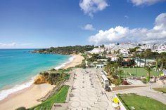 View of Praia da Oura from Clube Praia Oura.