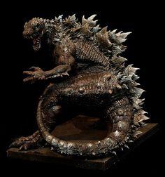 Godzilla Redesign Full body by FritoFrito.deviantart.com