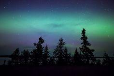 Aurora Borealis - Burntside Lake, Minnesota, USA