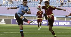 SEOUL, South Korea (AP) Venezuela scored a late equalizing goal and then held on through a penalty shootout to beat Uruguay on Thursday and reach the final of the Under-20 World Cup. The teams drew 1-1 in Daejeon but Venezuela advanced by winning the shootout 4-3. Venezuela goalkeeper Wuilker...