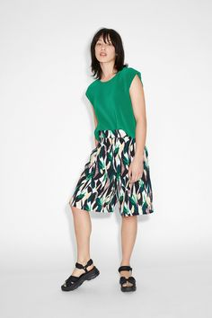 These dreamy soft culottes combine the beauteousness of a skirt with the functionality of shorts.