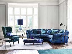 Curved Sofa UK 10 Photos image and description - DesignWalls.com Gebogenes Sofa, Sofa Uk, Sofa Furniture, Furniture Design, Curved Corner Sofa, Curved Sofa, Formal Living Rooms, Rugs In Living Room, Teenager Zimmer Design